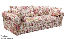 Sofa w kwiaty Roza