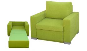 Fotel rozkładany Riga