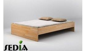 Łóżko drewniane do sypialni Agat