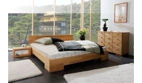 Drewniane łóżko Caro 1
