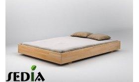 Drewniane łóżko do spania Opal