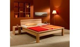 Łóżko drewniane 140x200 - na dowolny wymiar - Astor