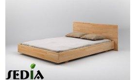 Łóżko z drewna Beryl