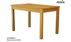 Stół drewniany rozkładany Grafin
