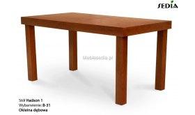 Stół drewniany do jadalni Hadson