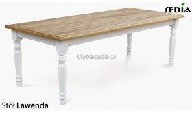 Stół z drewna dębowego Lawenda