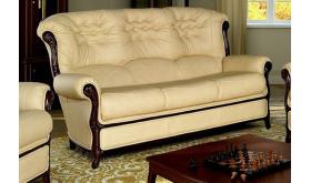 Elegancka sofa z drewnianymi nogami - Hilary 3