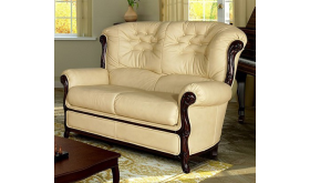 Skórzana sofa z pojemnikiem - Hilary
