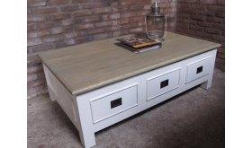 Stolik drewniany biały Arkadiusz