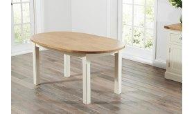 Stół drewniany owalny Dinar