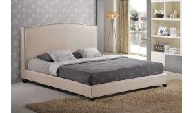 Tapicerowane łóżko Enrico