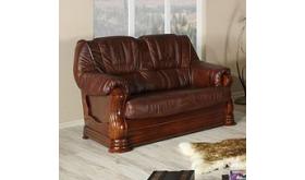 Stylizowana dwuosobowa sofa - Palmer