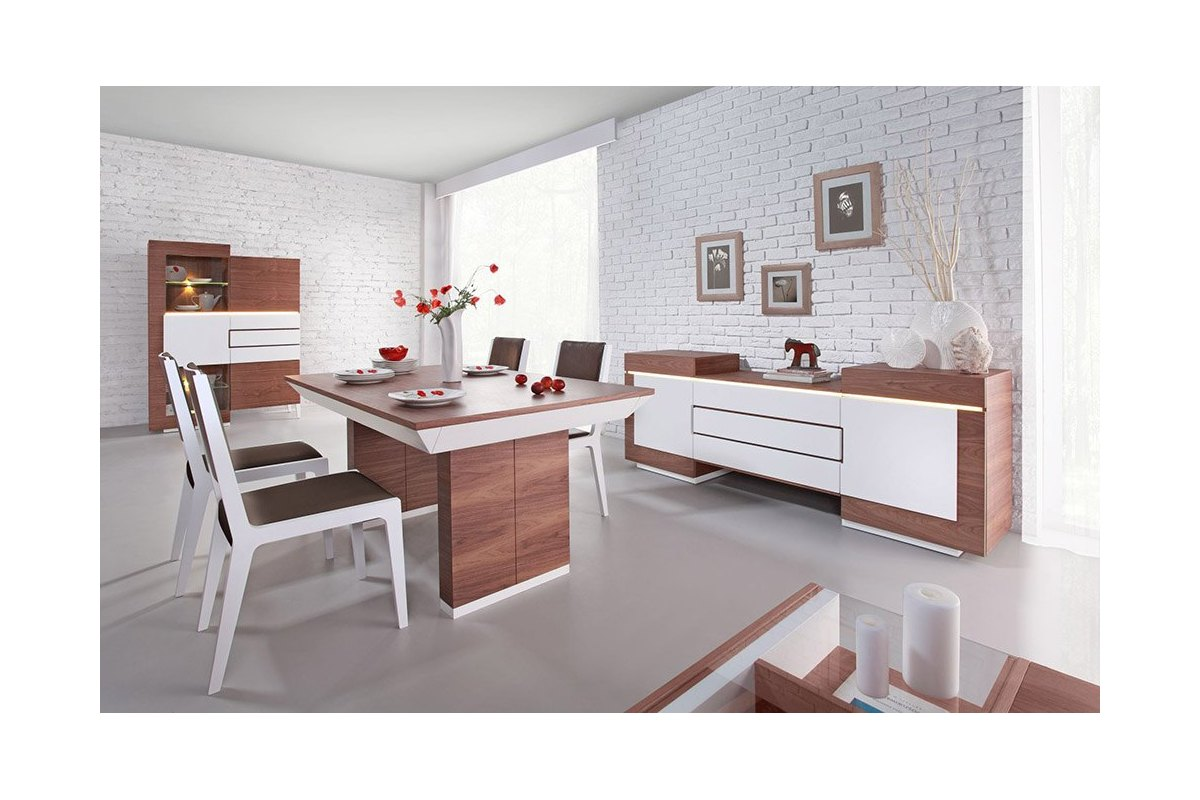 Nowoczesny stolik kawowy future line 9202 for Salle a manger complete blanche