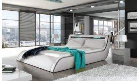 Nowoczesne tapicerowane łóżko Estero
