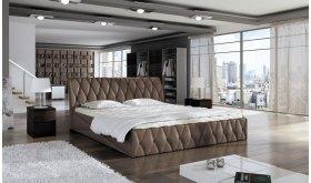 Pikowane łoże Lene