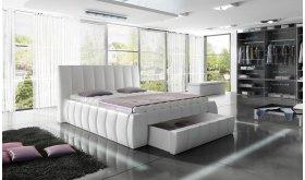 Łóżko tapicerowane z szufladą Solina