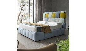 Designerskie łóżko tapicerowane Brita