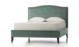 Klasyczne łóżko tapicerowane - King