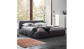 łóżko tapicerowane Orso do sypialni