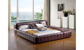 nowoczesne niskie łóżko tapicerowane Nadi
