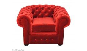 Fotel skórzany Chesterfield Retro