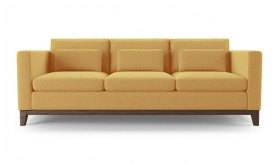 żółta sofa Panama 220 cm