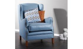 Piękny klasyczny fotel Zeno