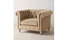 Zielona sofa chesterfield Bran 200 cm