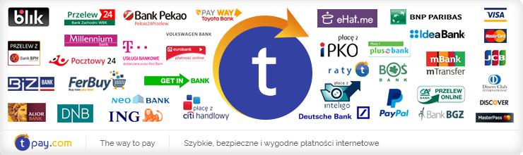 Szybkie płatności Tpay