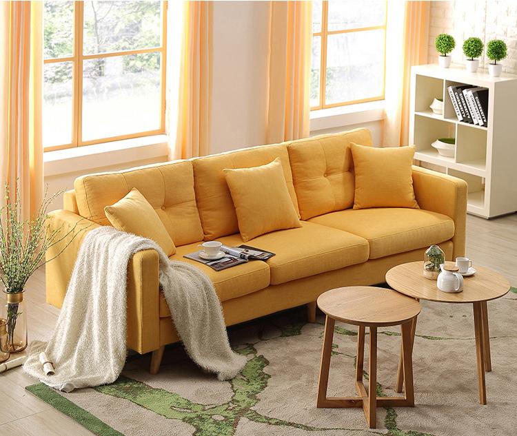 Sofa do skandynawskiego salonu