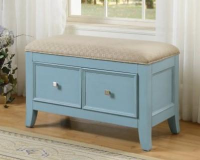 Niebieska ławeczka