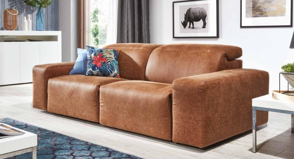brązowa sofa nierozkładana