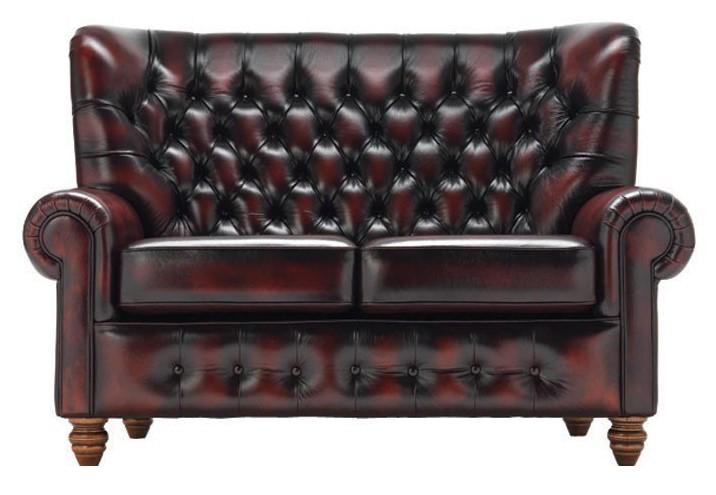 skórzana sofa pikowana