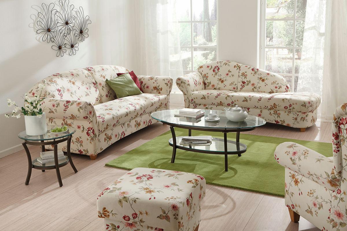 sofa w stylu prowansalskim